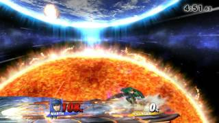 Marth vs Villager offstage plays