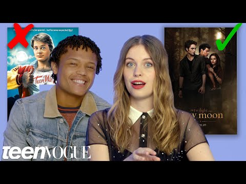 'The Innocents' Cast Test Their Supernatural Movie Knowledge | Teen Vogue (видео)