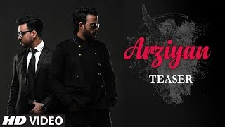 "Presenting the song teaser of the brand new song ""Arziyan "", sung by Toshi Sabri, composed by Shaarib & Toshi . Full video releasing on 22nd August 2017.Song- Arziyan Singer- Toshi Sabri Music - Shaarib & Toshi Lyrics- Kalim Shaikh Music Label: T-Series Song Programing By- Aditya Dev & Ridhiman Chatterji Mix And Mastered- Aditya Dev Directed By-Jasmeen Oza DOP- Tanveer Mir Produced By- Bluenote & Kora By NM  Special Thanx To- Azeem Shirazi/ Uma Shankar Kathak/ Suraj Nagotra/ Shoaib Taqvi/Kamaal H Khan/ Vinayak/                        ___Enjoy & stay connected with us!► Subscribe to T-Series: http://bit.ly/TSeriesYouTube► Like us on Facebook: https://www.facebook.com/tseriesmusic► Follow us on Twitter: https://twitter.com/tseries► Follow us on Instagram: http://bit.ly/InstagramTseries"