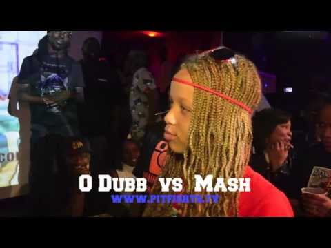 PIT FIGHTS BATTLE LEAGUE : O Dubb Vs Mash (12 year old girl vs grown man)