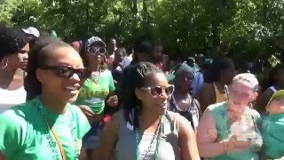 Feeling Good St Patrick's Day Jump Up Montserrat 2016.