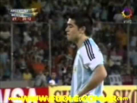 Video Juan Roman Riquelme todos sus goles con Argentina