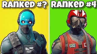RANKING EVERY 'STARTER PACK' FROM WORST TO BEST! Fortnite Battle Royale - STARTER PACK SKINS RANKED