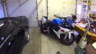 9. Top speed run on friends GSXR 750 182mph!!!