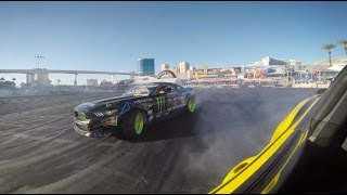 SEMA DRIFT BATTLE - Gitten vs Powers by Hot Rod Magazine