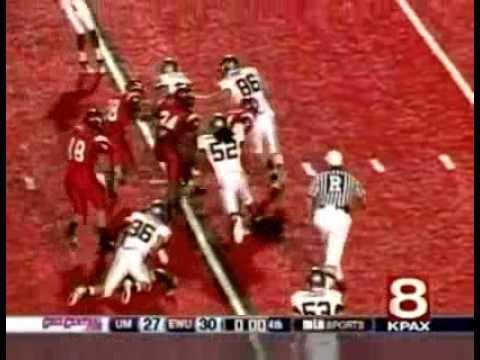 Eastern Washington vs Montana 2010 Highlights video.