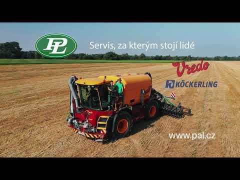 Video: Samojízdný aplikátor VREDO VT4556