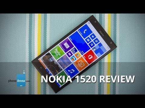 phonearena - For more details, check out our web site: http://www.phonearena.com/reviews/Nokia-Lumia-1520-Review_id3496 Enter the Nokia Lumia 1520, the biggest and most s...