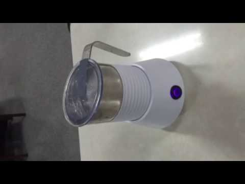 Milk Frother Completed Operation Video WSD COFFEE MACHINE