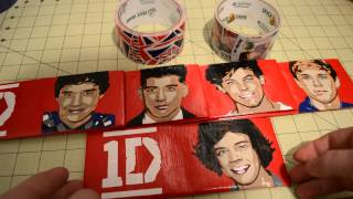 One Direction Duct Tape Wallets - YouTube