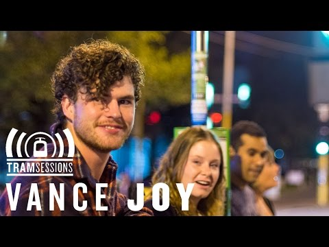 Vance - It was a busy night in Melbourne's CBD when we met Vance Joy for this session. After waiting for the tram to clear out, and probably going the furtherest out...