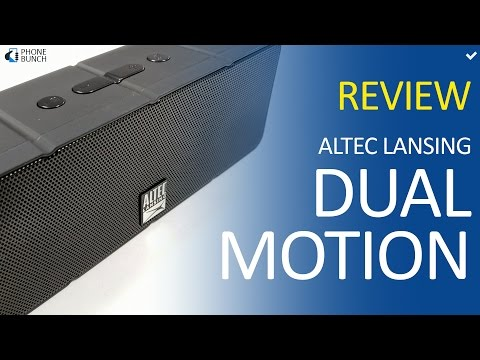 Altec Lansing Dual Motion Review - Best Budget Bluetooth Speaker under Rs. 2000?
