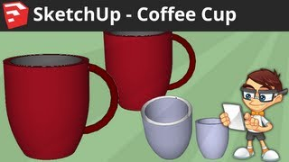 Video SketchUp: Coffee Cup MP3, 3GP, MP4, WEBM, AVI, FLV Desember 2017