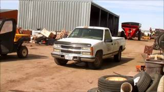 5. 1995 Chevrolet Cheyenne 2500 pickup truck for sale | sold at auction March 25, 2015