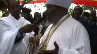 His Holiness Abune Paulos Speech At Mekelle Debre Amin Abune Teklehaimanot