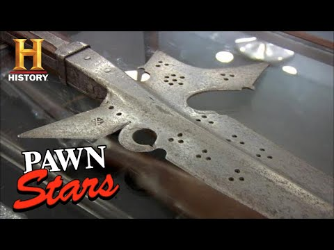 Pawn Stars: RARE WEAPON OWNER IRRITATED BY LOW OFFER (Season 8)   History