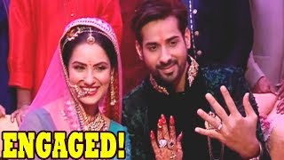 Pooja Banerjee & Kunal Verma get engaged in a star studded ceremony.. Many celebrities like Anita Hassanandani,  Raj Singh Arora, Bharti Singh, Shashank Vyas etc attend the ceremony.. ➤Subscribe Telly Reporter @ http://bit.do/TellyReporter➤SOCIAL MEDIA Links: ➤https://www.facebook.com/TellyReporter➤https://twitter.com/TellyReporter➤https://www.instagram.com/TellyReporter➤G+ @ https://plus.google.com/u/1/+TellyReporter