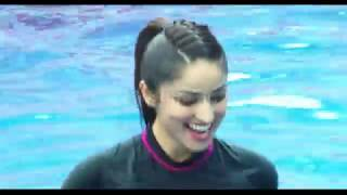 Yami Gautam Practice Speedo Aquafit-Vertical Underwater Fitness Training