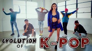 Video Evolution of K-POP!! (ft. Alyson Stoner & Next Town Down) MP3, 3GP, MP4, WEBM, AVI, FLV Juni 2018