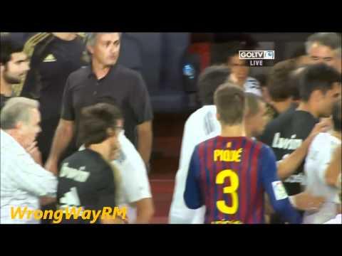 Mourinho attacking Tito Vilanova HD (видео)