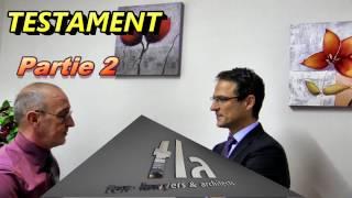 Testament en Espagne (lois d'héritage et lois fiscale !)