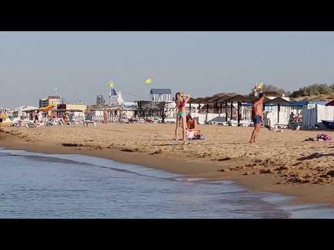 Черное море 7.15 утра - 17.08.2018 КАМКИ НЕТ - DomaVideo.Ru
