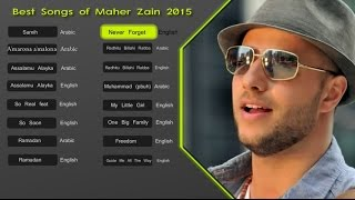 Video Maher Zain Best Songs 2015 - Soundtrack | اناشيد ماهر زين MP3, 3GP, MP4, WEBM, AVI, FLV Juni 2018