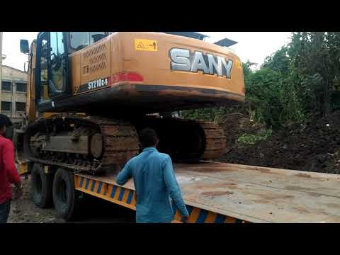 🔥Amazing video ! Volvo Excavator uploading in truck  by  Experienced Drivers-  Dozer video 🔥