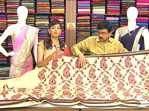 Latest All Varieties of Pattu and Fancy Sarees | Sogasu Chuda Tarama 29 July 2015 10 31 AM