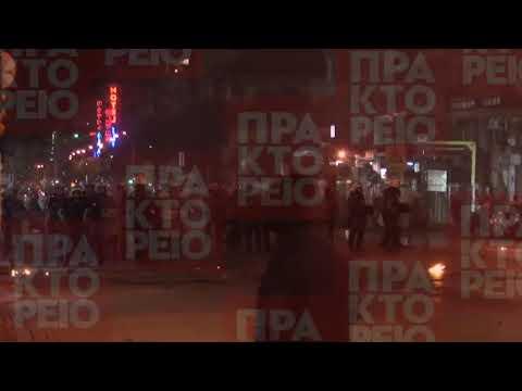 Ένταση στο τέλος της πορείας στη μνήμη του Π. Φύσσα στη Θεσσαλονίκη
