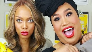 WHATS IN MY BAG WITH TYRA BANKS   PatrickStarrr