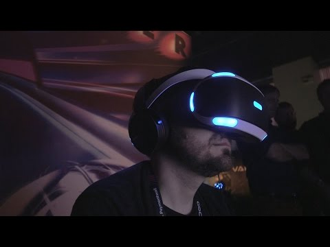 A First Look At PlayStation s New VR Headset