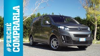 Citroen Spacetourer | Perché comprarla... e perché no - Video Test