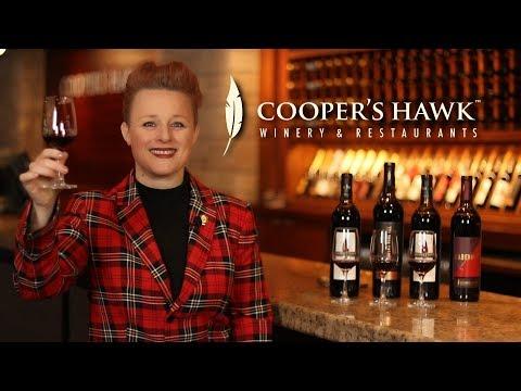 Wine with Wines - Cooper's Hawk Cabernet Tasting