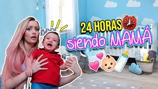 Download Lagu 24 HORAS SIENDO MAMÁ ¡Auxilio! | Katie Angel Mp3