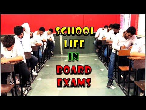 School Life In Board Exams || Virat Beniwal