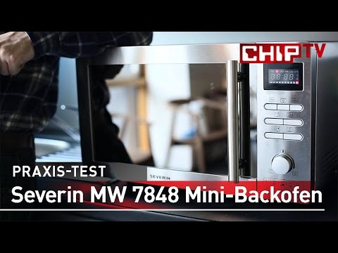Severin MW 7848 Mikrowellen Backofen - Review deutsch | CHIP