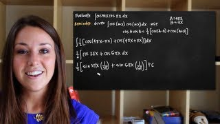 Integrals Of Trigonometric Functions, Cos(mx)cos(nx)