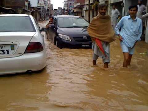 Tragedia en Pakistán: ciudades se encuentran bajo el agua