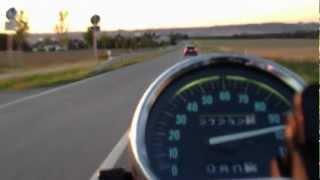 9. Kawasaki Eliminator 125 - kleine Spritztour