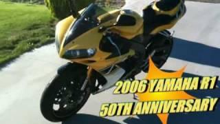 9. 2006 Yamaha R1 50th Anniversary Special Edition