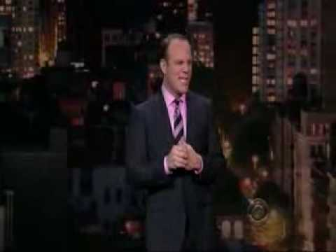 Tom Papa on David 7 Letterman HD 1080p