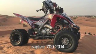 8. few MX training on a raptor 700 2014
