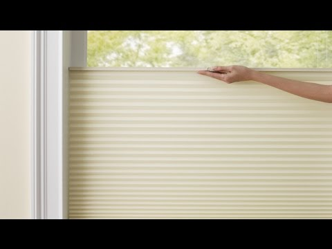 Cellular Shades: Cordless Top Down Bottom Up