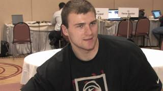 Artsiom Parakhouski Draft Combine Interview