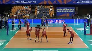Serbia vs. Russia VNL, Blue No.5