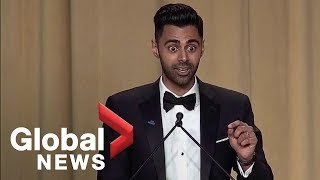 Video Daily Show's Hasan Minhaj White House Correspondents' Dinner full monologue MP3, 3GP, MP4, WEBM, AVI, FLV April 2018
