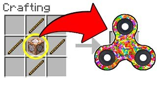 COMMAND BLOCK FIDGET SPINNER in Minecraft!! - Make a Fidget Spinner with COMMAND BLOCKS in Minecraft