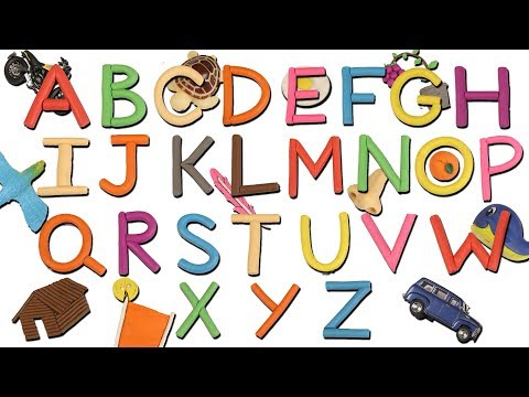 abc song kids tv play doh  kindergarten alphabets song  learning play doh  videos  children rhyme