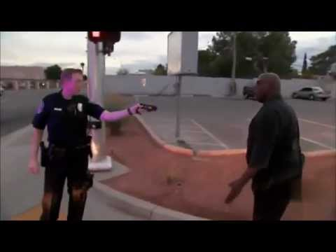 Tazed By Police Straight Into His Bare Chest